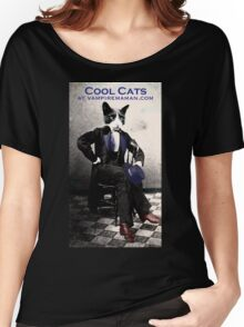 Cool Cat Women's Relaxed Fit T-Shirt
