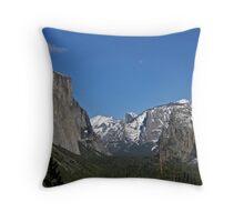 Pristine Perfection, Yosemite Throw Pillow