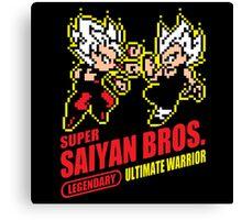 Super Saiyan Bros. Canvas Print