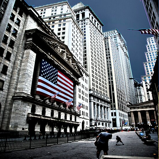 A Game of Catch at the Stock Exchange by Mary Ann Reilly