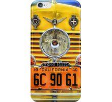 Tom Mix's 1937 Cord Phaeton iPhone Case/Skin