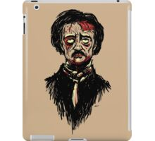 Edgar Allan Poe Zombie iPad Case/Skin
