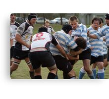 Geelong vs Monash Uni Canvas Print