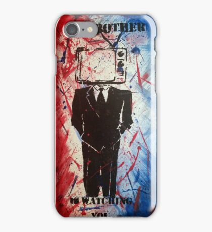 Big Brother Is Watching 02 iPhone Case/Skin