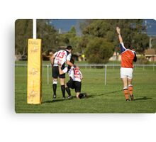 Try Time Canvas Print