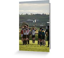 Rob's Lineout Greeting Card