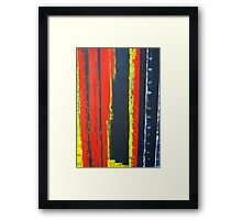 ABSTRACT UNTITLED II Framed Print