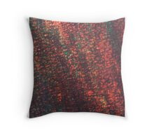 layers of color - five Throw Pillow