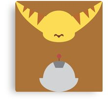 Ratchet & Clank - Minimal Design Canvas Print