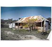 Faint Farmhouse Poster