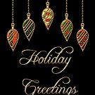 Merry Christmas Holiday Greetings  by David Dehner