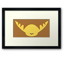 Ratchet & Clank -  Ratchet - Minimal Design Framed Print