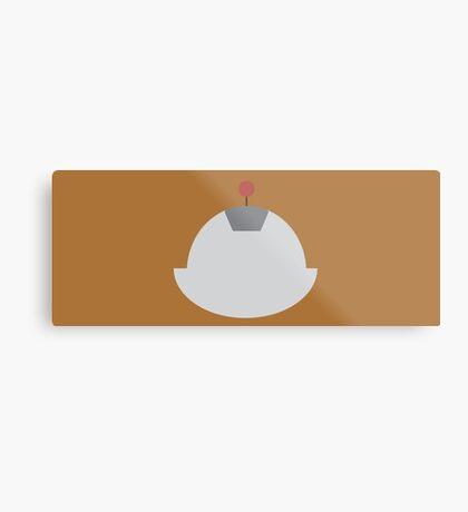 Ratchet & Clank -  Clank - Minimal Design Metal Print