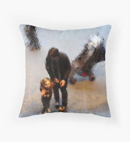 Waterwall Throw Pillow