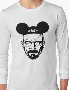 Walter Mouse | Breaking Bad Parody Long Sleeve T-Shirt
