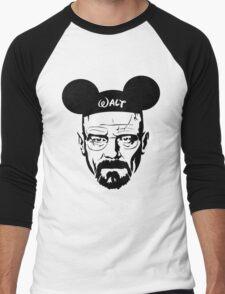 Walter Mouse | Breaking Bad Parody Men's Baseball ¾ T-Shirt