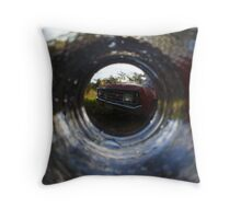 Last Drinks for the Val Throw Pillow