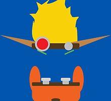 Jak & Daxter - Minimal Design by FrozenLip