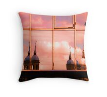 REFLECTIONS ABOVE Throw Pillow