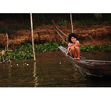 Mekong Girl  Photographic Print