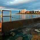Sunrise Swim by Carol Ritchie