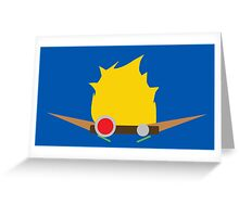 Jak & Daxter - Jak - Minimal Design Greeting Card