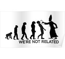 WE'RE NOT RELATED  Poster