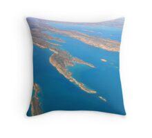 Islands of the Buccaneer Archipelago Throw Pillow