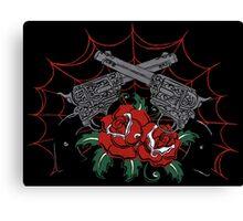 Guns & Roses Canvas Print