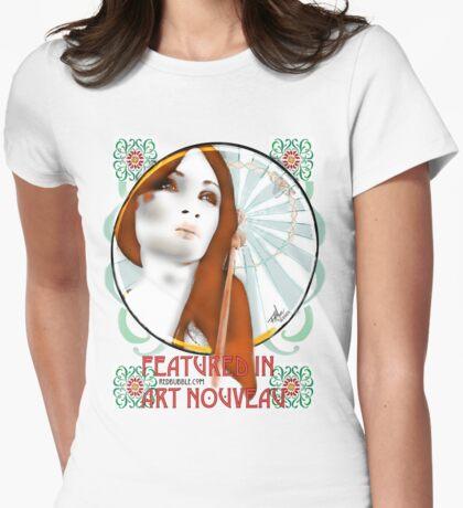 Feature  in Art Nouveau - sticker T-Shirt