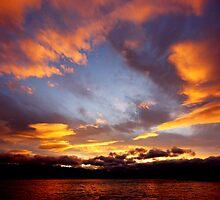 Winter sunset by Matthew Smith