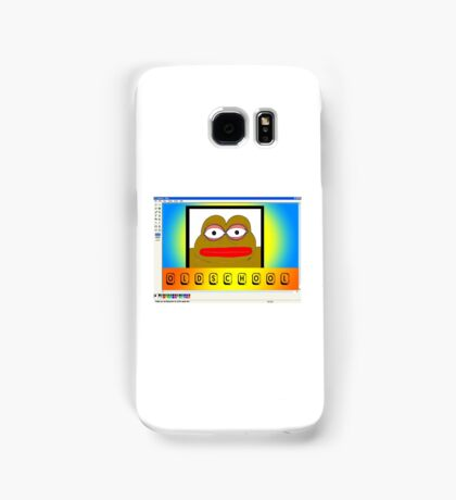 Pepe the oldschool frog Samsung Galaxy Case/Skin