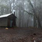 Howqua Gap hut by Tony Middleton