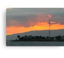 Striking Sunset Canvas Print