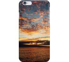 Beautiful sunset in Hawaii  iPhone Case/Skin