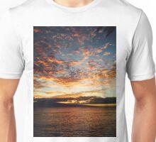 Beautiful sunset in Hawaii  Unisex T-Shirt