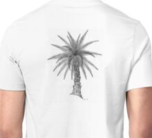 Elegant Palm Tree Sketch Unisex T-Shirt