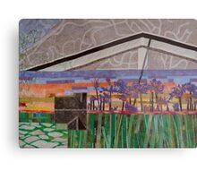 Agapanthus Sunset Metal Print