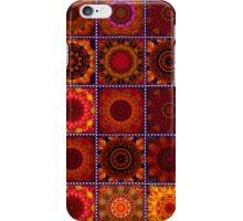 Orange Crazy Quilt iPhone Case/Skin