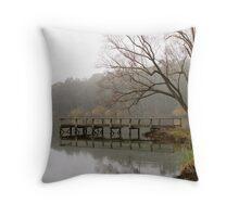 Lake Daylesford Throw Pillow