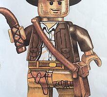 Lego Indiana jones minifigure by Maudster