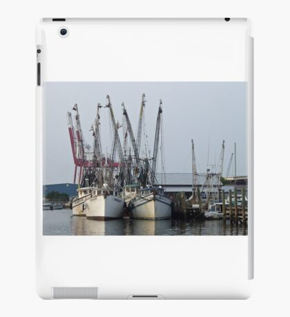 Fishing Fleet iPad Case/Skin