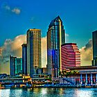 City of Tampa, Skyline  HDR 23 Exposures by MKWhite