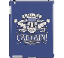 Call Me Captain! iPad Case/Skin
