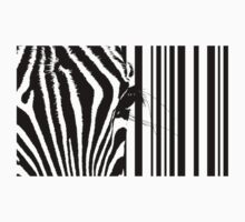 Barcode Zebra by adellecousins