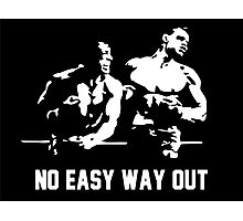 Rocky no easy way out Photographic Print