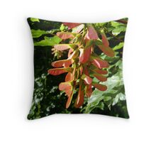 seed cluster Throw Pillow