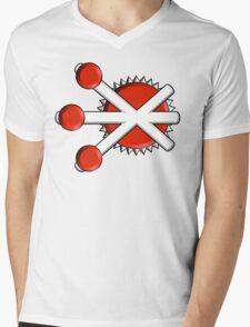 Firestorm Comic Logo Mens V-Neck T-Shirt