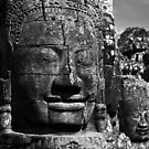 Bayon Faces, Angkor Wat, Cambodia by Dieselsmum
