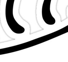 K-On! Houkago Tea Time Logo Sticker